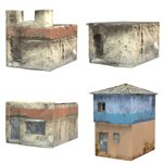 Click to see information about the 'Shanty Town Buildings 2: Set 4 (for Poser)'.