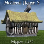Cartoon World: Medieval Houses (for Poser)