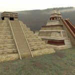 Click to see information about the 'Mayan City: Pyramids (for Poser)'.