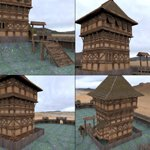 Castle Keep And Tower (for DAZ Studio)