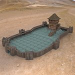 Click to see information about the 'Castle Keep And Tower (for Wavefront OBJ)'.