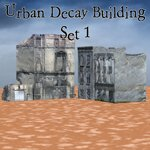 Urban Decay: Buildings Set 1 (for Poser)