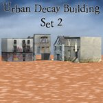 Urban Decay: Buildings Set 2 (for Poser)