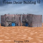 Urban Decay: Buildings Set 3 (for Poser)