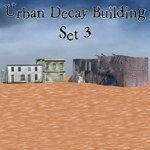 Click to see information about the 'Urban Decay: Buildings Set 3 (for Poser)'.