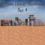 Click to see information about the 'Urban Decay: Buildings Set 4 (for Poser)'.