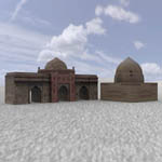 Click to see information about the 'Middle East Buildings 1 (for Poser)'.