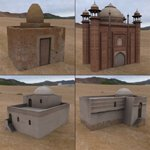 Click to see information about the 'Middle East Buildings 3 (for Poser)'.