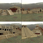 Mayan City Buildings Set (for DAZ Studio)