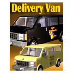 Click to see information about the 'Delivery Van (for iClone)'.