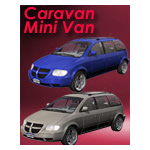 Click to see information about the 'Caravan Minivan (for iClone)'.