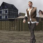 Click to see information about the 'Medieval Townsman (M4) (for Poser)'.