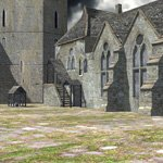 Click to see information about the 'Fortified Manor (for Poser)'.