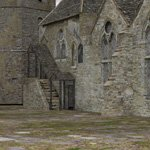 Click to see information about the 'Fortified Manor (for DAZ Studio)'.