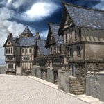 Click to see information about the 'Medieval Street (for Poser)'.