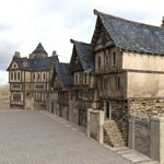Click to see information about the 'Medieval Street (for DAZ Studio)'.