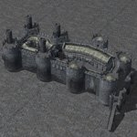 Castle Set 1 (for Wavefront OBJ)