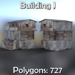 Shanty Town Buildings 2: Set 3 (for DAZ Studio)