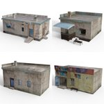 Shanty Town Buildings 2: Set 6 (for DAZ Studio)