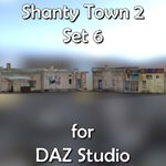 Click to see information about the 'Shanty Town Buildings 2: Set 6 (for DAZ Studio)'.
