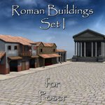 Click to see information about the 'Roman Buildings Set I (for Poser)'.