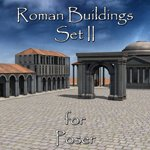 Click to see information about the 'Roman Buildings Set II (for Poser)'.