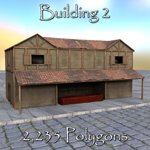Roman Buildings Set I (for DAZ Studio)