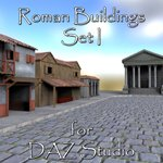 Click to see information about the 'Roman Buildings Set I (for DAZ Studio)'.