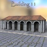 Roman Buildings Set II (for DAZ Studio)