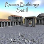 Click to see information about the 'Roman Buildings Set II (for DAZ Studio)'.