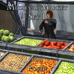 Click to see information about the 'Medieval Market 1 (for Poser)'.