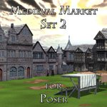 Click to see information about the 'Medieval Market 2 (for Poser)'.
