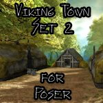 Click to see information about the 'Viking Town: Set 2 (for Poser)'.