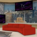 Daytime TV Talk Show Set (for DAZ Studio)