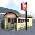 Bobs Diner (for DAZ Studio)