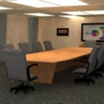 Business Conference Room (for Poser)