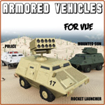 Click to see information about the 'Armored Vehicles (for Vue)'.