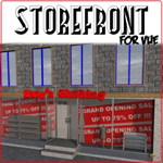 Click to see information about the 'Storefront (for Vue)'.