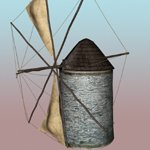 Old Windmill (for DAZ Studio)