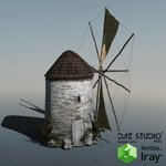 Click to see information about the 'Old Windmill (for DAZ Studio)'.