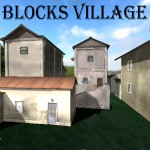 Click to see information about the 'Blocks Village (for Poser)'.