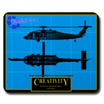 Click to see information about the 'Blackhawk `Inspirational` Mousepad'.
