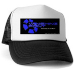 Truckers Hat - Black Logo