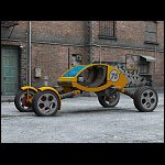 Razor - Sci-Fi Racing Buggy (for Poser)