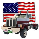 Click to see information about the 'US Truck (for Poser)'.