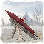 Click to see information about the 'Santa`s Rocket (for Poser)'.