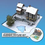The 4 Seasons and Christmas Village (for Poser)
