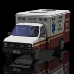 Ambulance (for Poser)