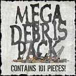 Click to see information about the 'Mega Debris Pack (for Poser)'.