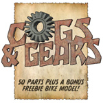 Click to see information about the 'Cogs N Gears (for Poser)'.